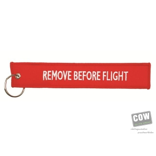 Afbeelding van relatiegeschenk:Remove Before Flight Hang Tag