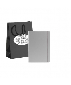 Pocket Notebook A5 Gift Set-Thank you bedrukken