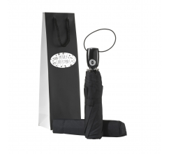 Automatic Umbrella Gift Set-Merry Christmas bedrukken