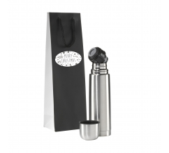 Thermotop Thermo flask Gift Set-Merry Christmas bedrukken