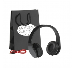 Bluetooth Headset Gift Set-Merry Christmas bedrukken