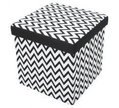 Foldable Storage Pouffe Mix & Match bedrukken